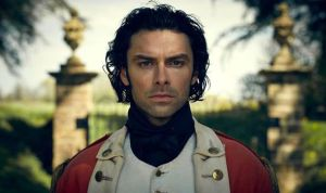 "Aidan Turner as ""Poldark."""