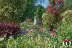 Hyde Park's Rose Garden via gardensoflondon.co.uk