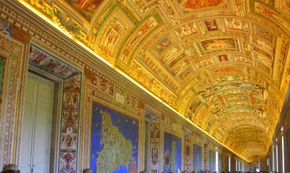 Vatican museum gallery via en.wikipedia.org