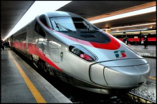 The Frecciargento (or Silver Arrow), Italy's bullet train. Photo: ltabloid.it