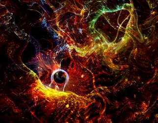 """""""My Universe: Fractal Manipulation"""" by NellieAnger on Deviant Art. (Direct website link embedded within.)"""