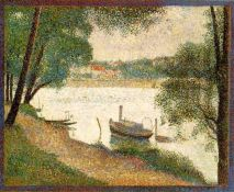 "George Seurat, ""Gray Weather,"" via Ducksters.com"