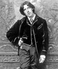 Oscar Wilde. Source: Pinterest.