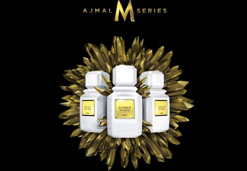 Ajmal M Series, trio of Muscs. Source: Fragrantica
