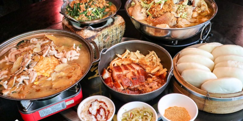 【台中美食】彭城堂臺菜海鮮餐廳 超好拍古早懷舊風餐廳!經典美味合菜辦桌菜