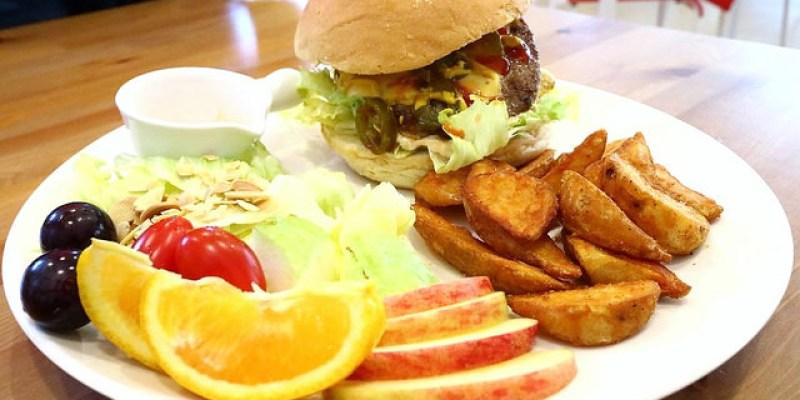 【宜蘭早午餐】蘋果花開 高CP值高飽足感漢堡貝果宜蘭市早點