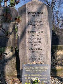 Kafkas Grab auf dem jüdischen Friedhof