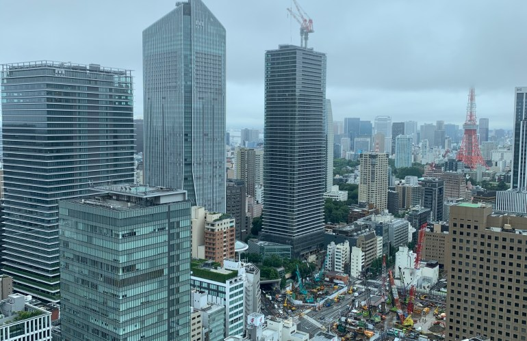 東京のすてきな名所──《霞ヶ関ビル》