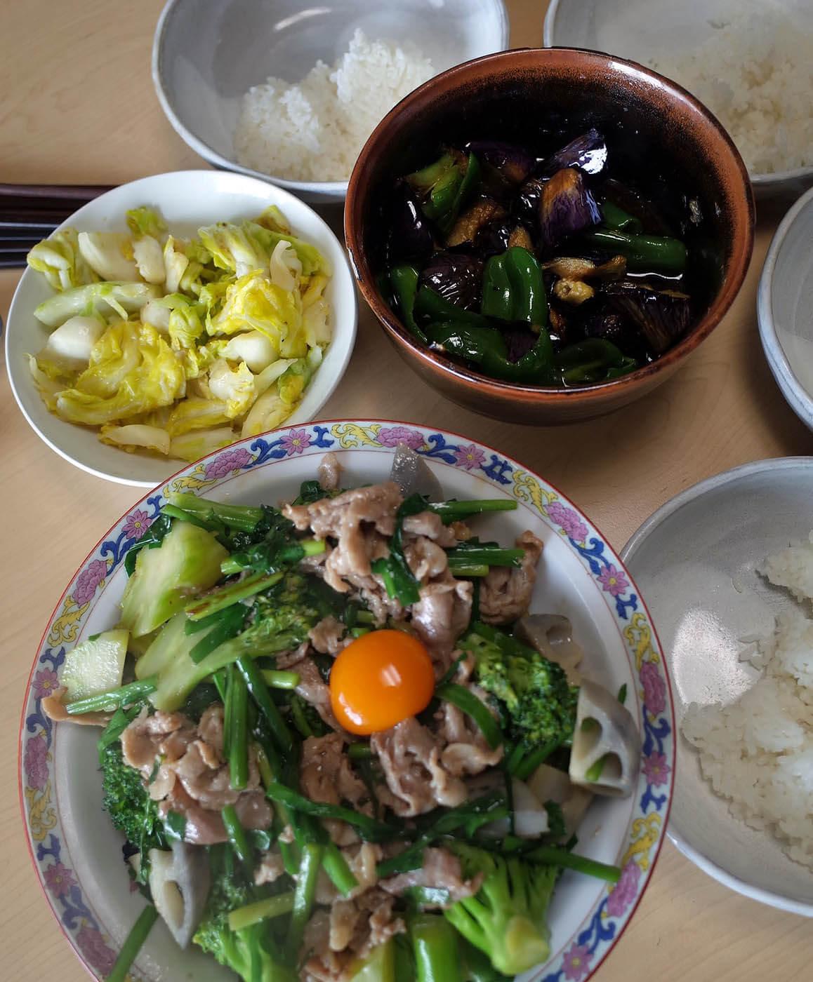 豚肉とブロッコリーの中華炒め