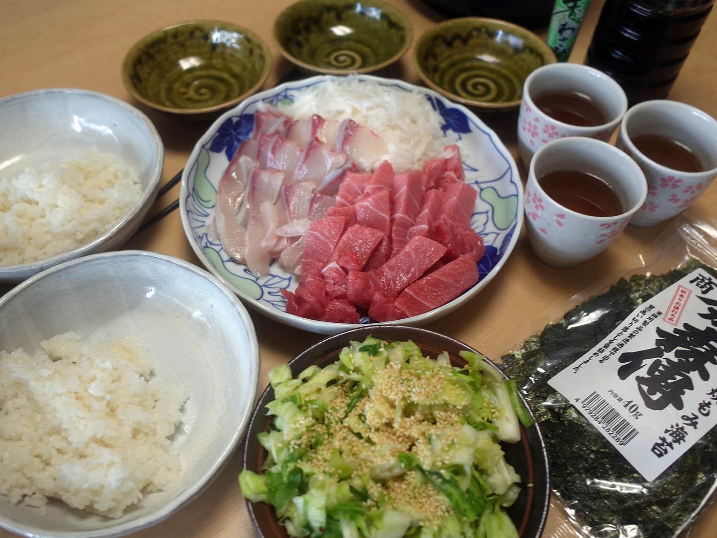 中トロ&ヒラマサ丼