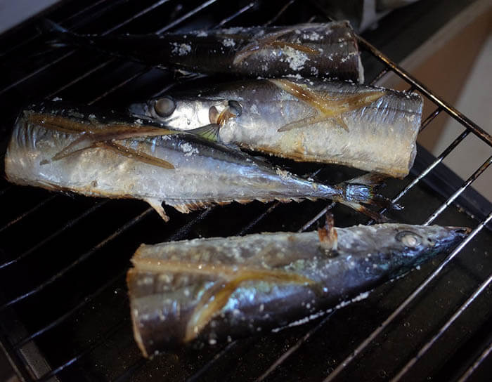 秋刀魚の炊き込みご飯
