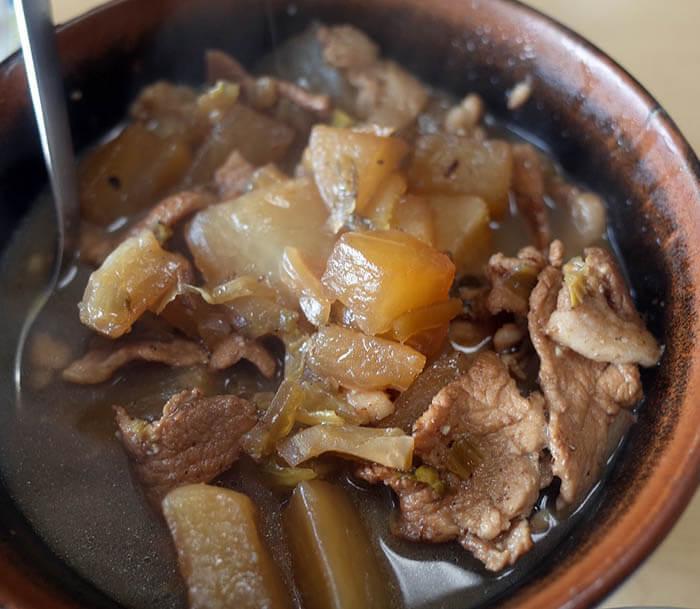 豚肉と大根の中華煮込み