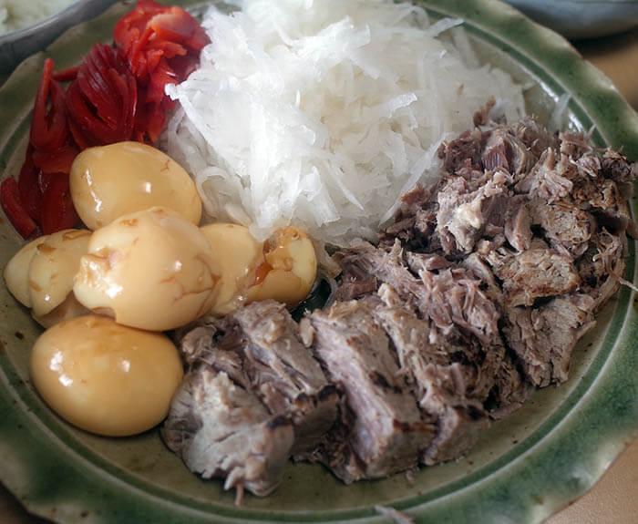 塩豚の煮豚