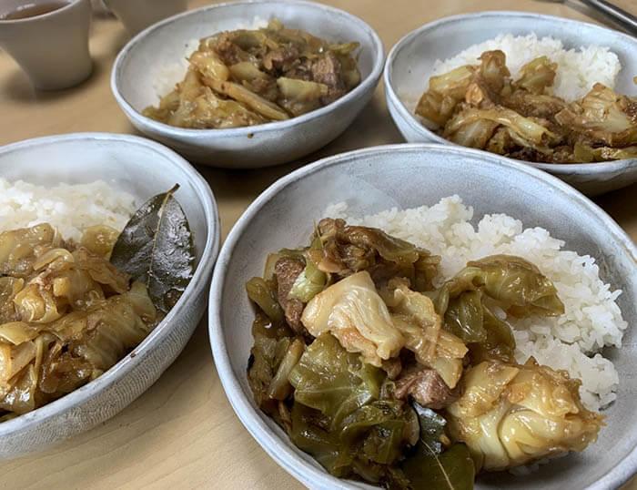 豚肉とキャベツのクタクタ煮