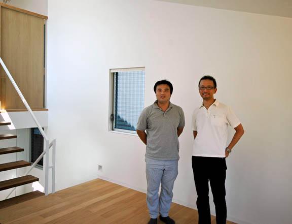 中西ヒロツグ氏と片岡大氏