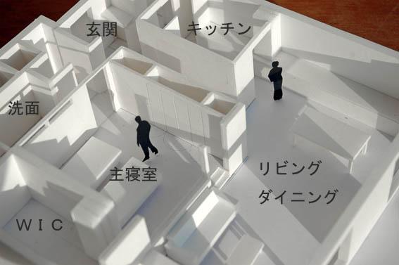 リフォーム決定プランの模型