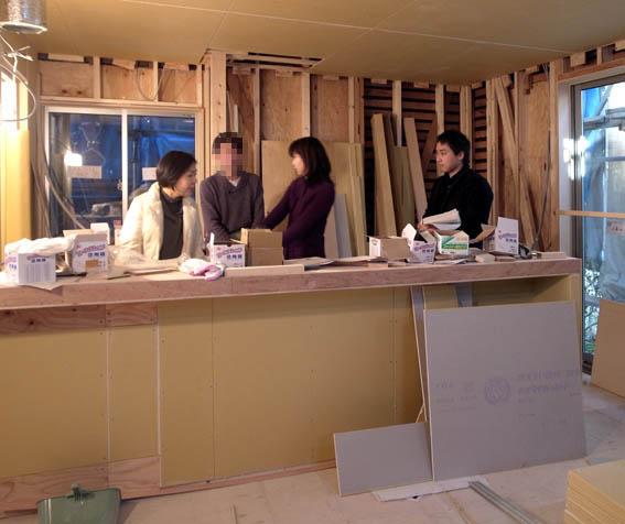 キッチンリフォームの打合せ@田園調布F邸