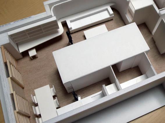 神戸M邸模型