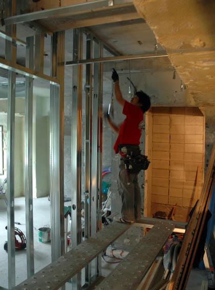 LGS天井下地工事