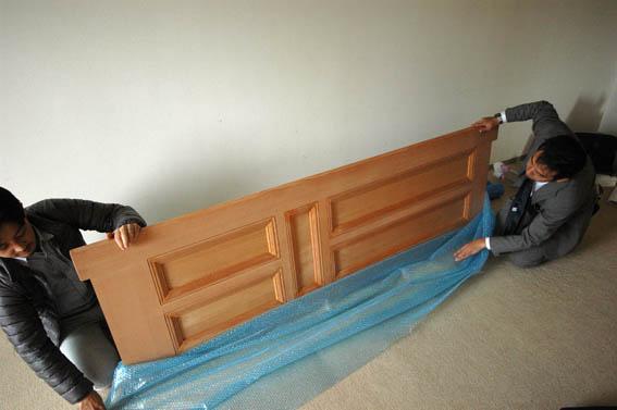 施主支給品の木製建具