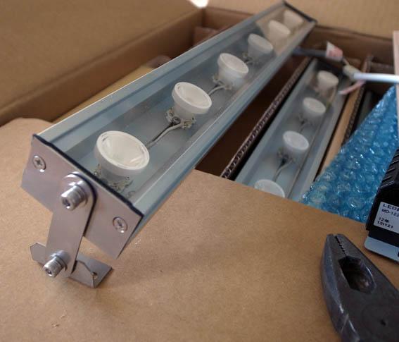 森川製作所の特注LED照明
