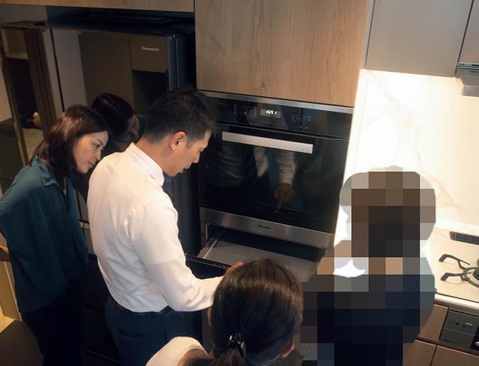 オーダーキッチンのモービリティーポの取り扱い説明