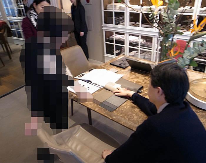 モルテーニ_高級輸入家具ショールームでのダイニングチェア選び