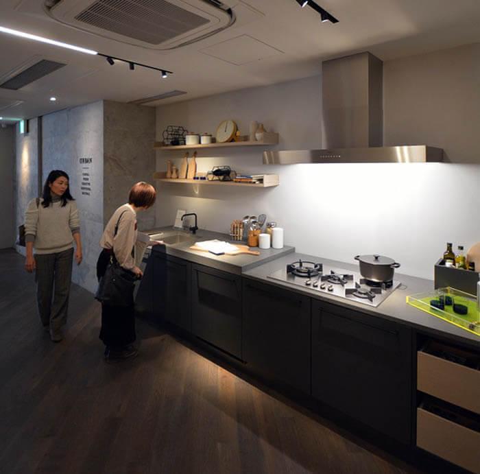 ジーマティックの高級輸入キッチンショールーム