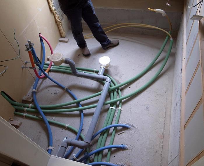 浴室の事前解体調査