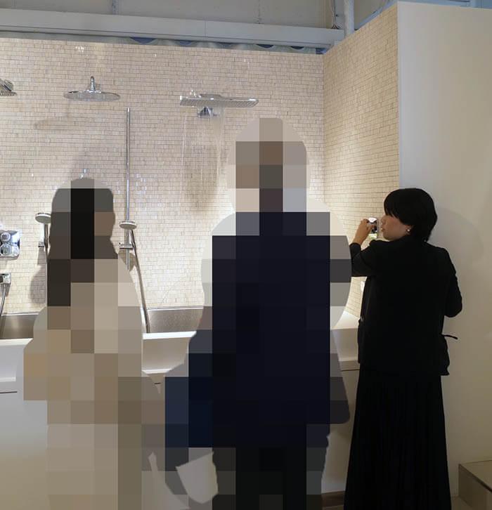 セラ水栓ショールーム訪問