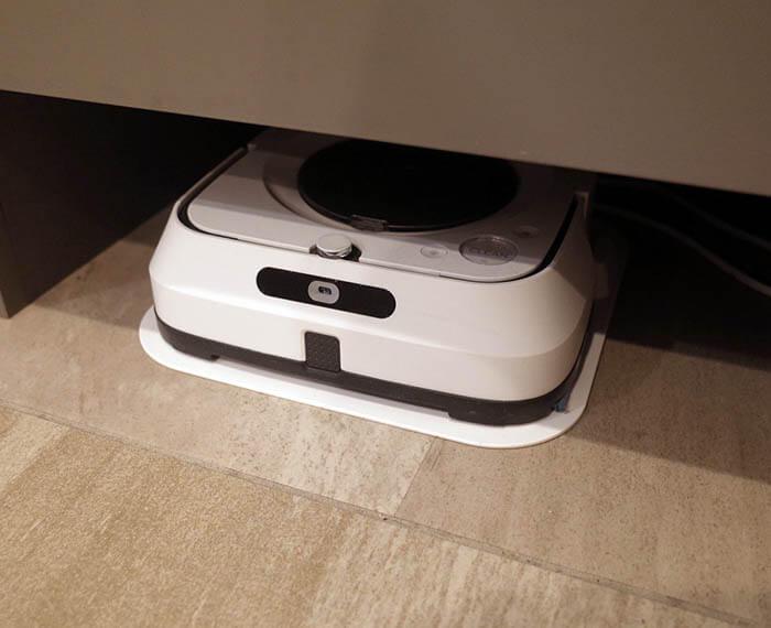 床拭きロボット_ブラーバ基地