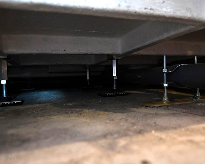 オーダーユニットバスの床下