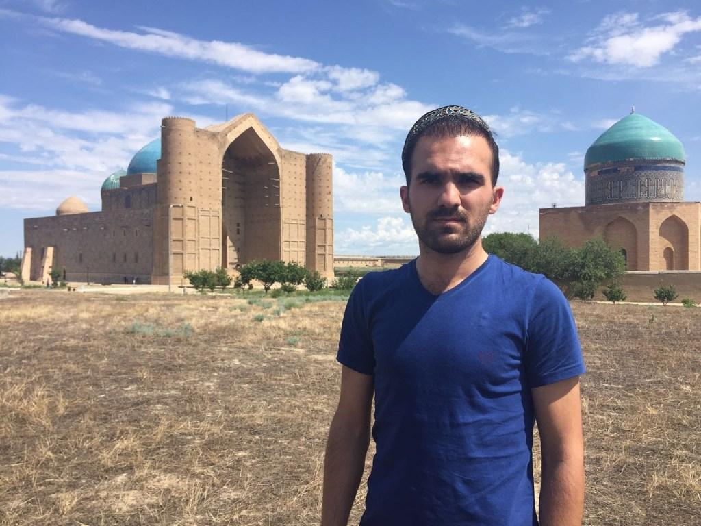 Ahmet Yesevi Türbesi Türkistan Kazakistan