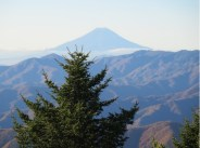 山頂より富士山が良く見えました