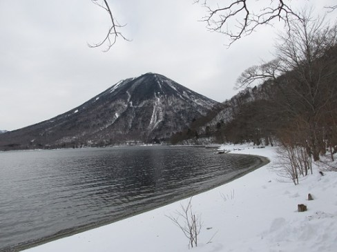 中禅寺湖畔より