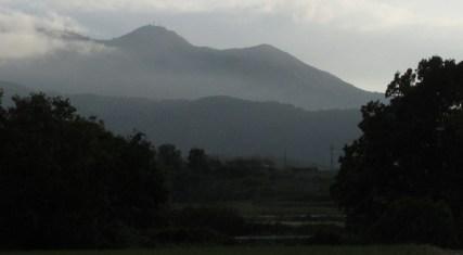 白井からの筑波山