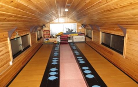 ライダーハウス内部(釣り船)