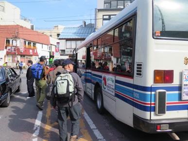 小田急新松田駅からこのバスで地蔵堂まで行きます