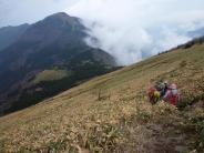笹ケ峰の下り