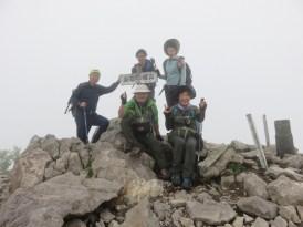 東籠ノ登山の山頂