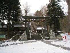 諏訪神社上社本宮
