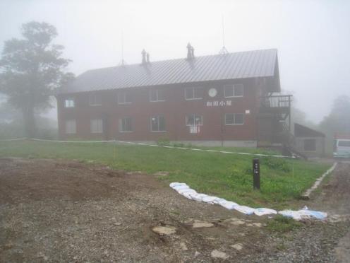 登山口の和田小屋