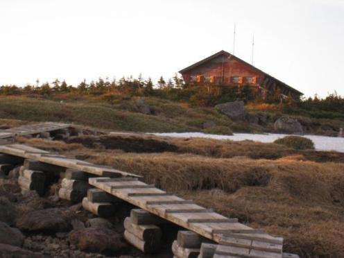 自然体験交流センター きれいな山小屋でした