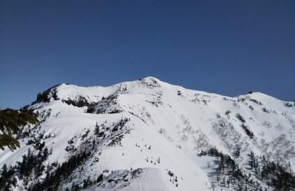 剣ヶ峰から武尊山山頂