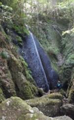 小木尻の滝はなかなか立派