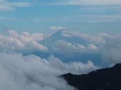 ギリギリ富士山も見えました。