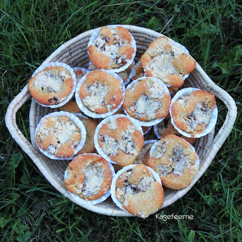 Fynsk æblekage muffins