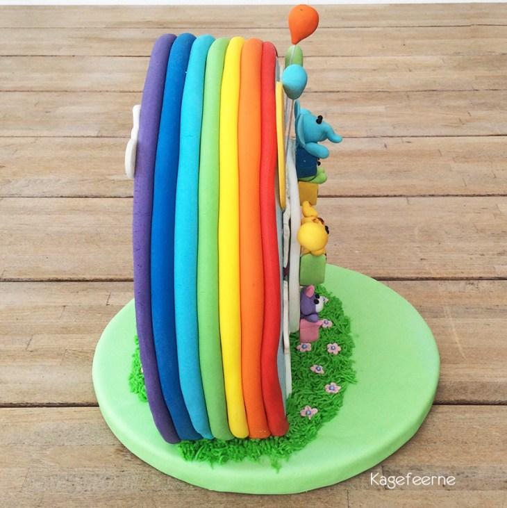 Kage, pariserhjul, cakeworld nordic 2014, børnekage, konkurrence