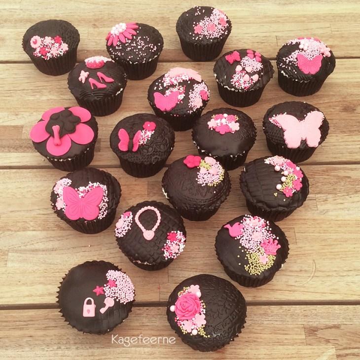 Pink-karamel-cupcakes