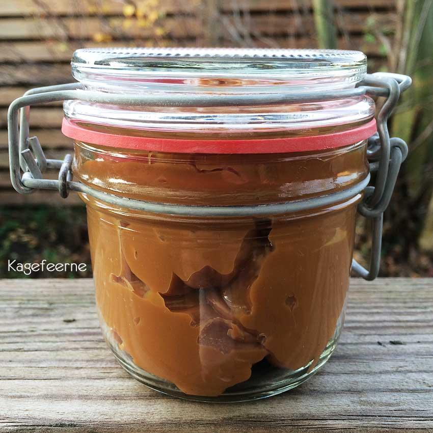 Dulce de leche hjemmelavet karamel